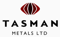 Tasman Metals NYSE-MKT:: TAS logo small-cap