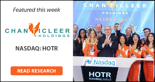 New HOTR Research Update; Price Target $2.56