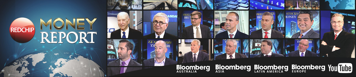 RedChip TV airs internationally on Bloomberg in 237.5 millions homes. RedChip Money Report