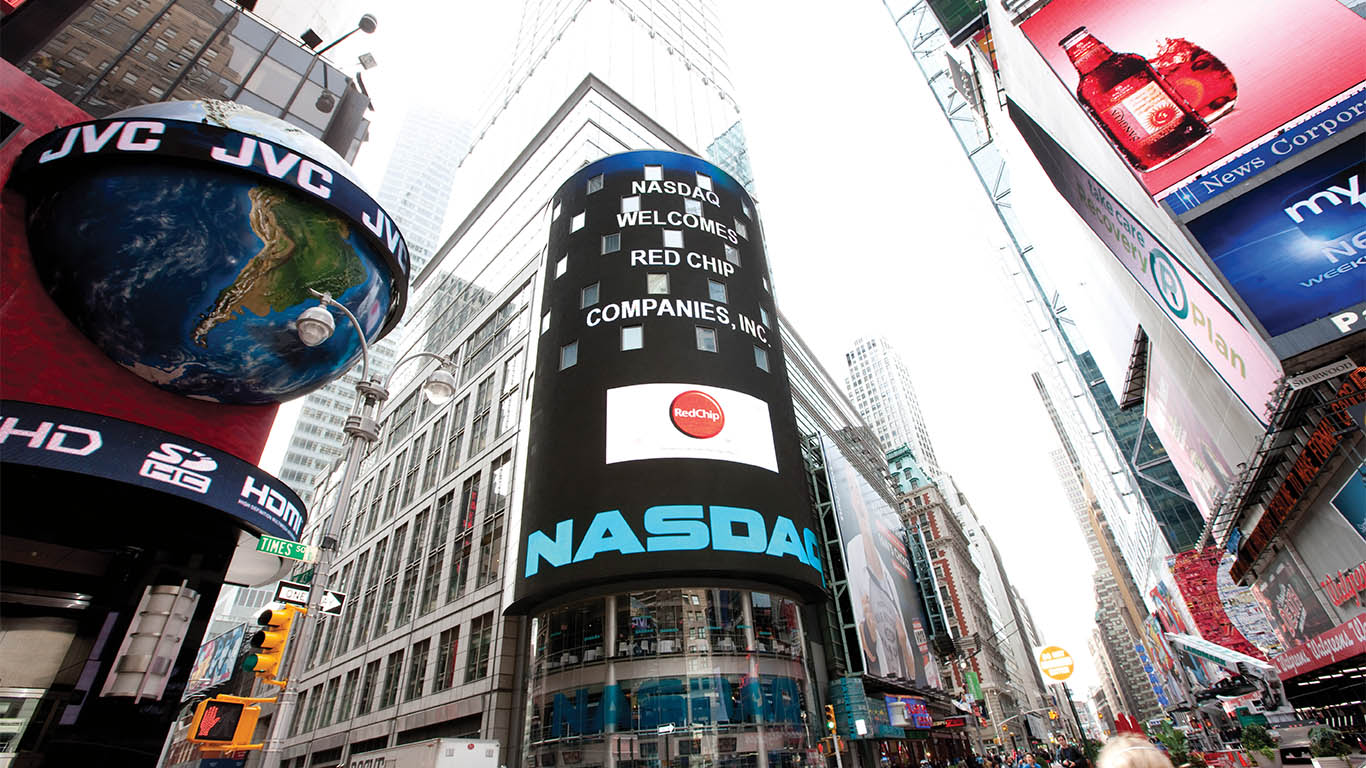 RedChip on the NASDAQ screen