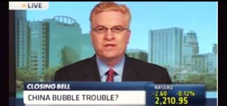 Dave Gentry on CNBC China Bubble Trouble