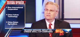 Dave Gentry on FOX Business - Chinese Reverse Mergers