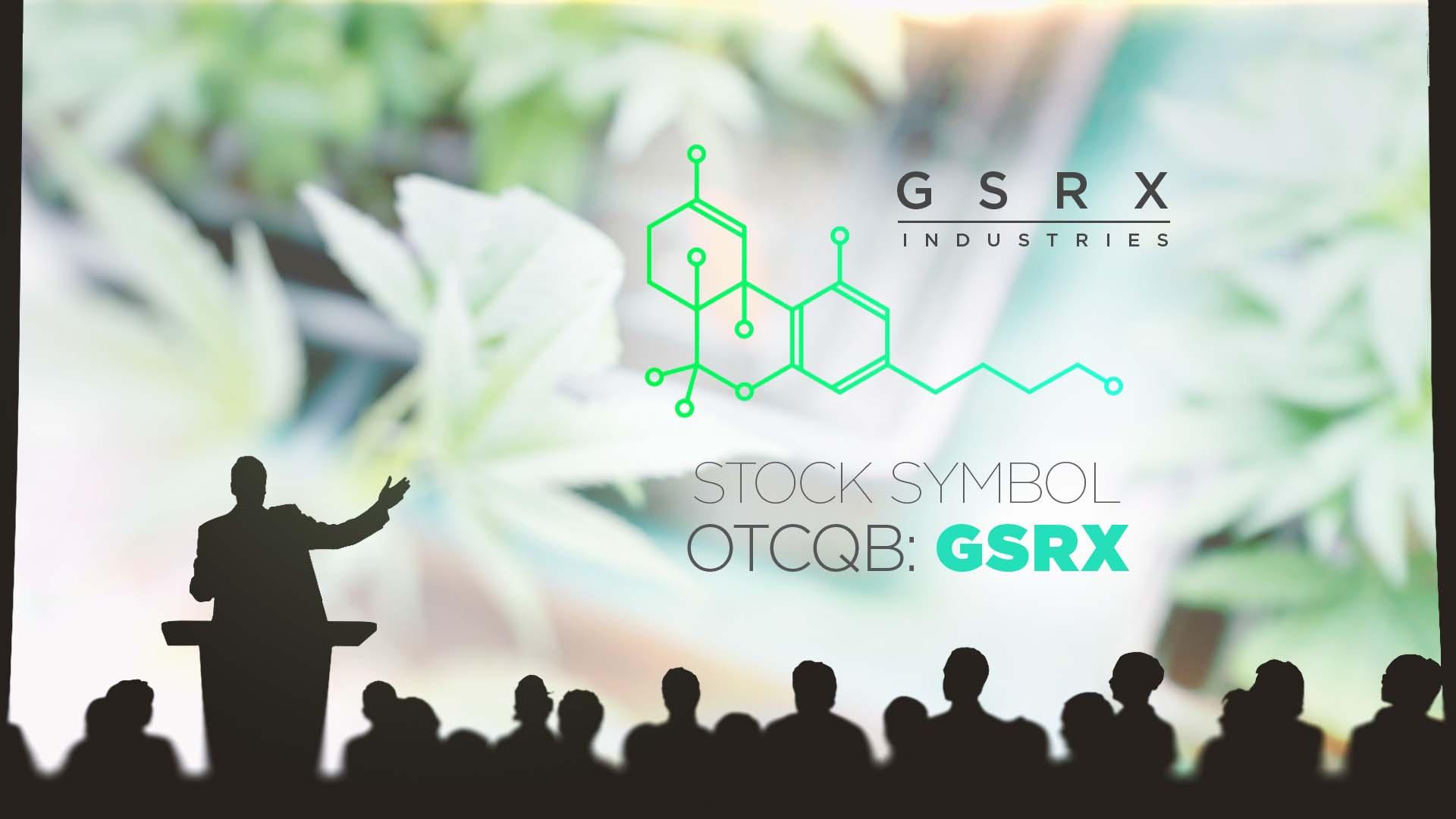 GSRX Industries Webinar image