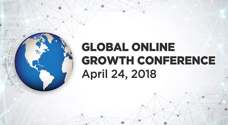 April 24-25, 2018 Global Online Growth Conference