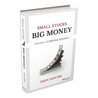 Dave Gentry book Small Stocks Big Money