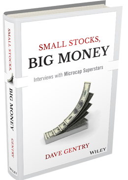 Small Stocks Big Money, Interviews with the Microcap Superstars Cover